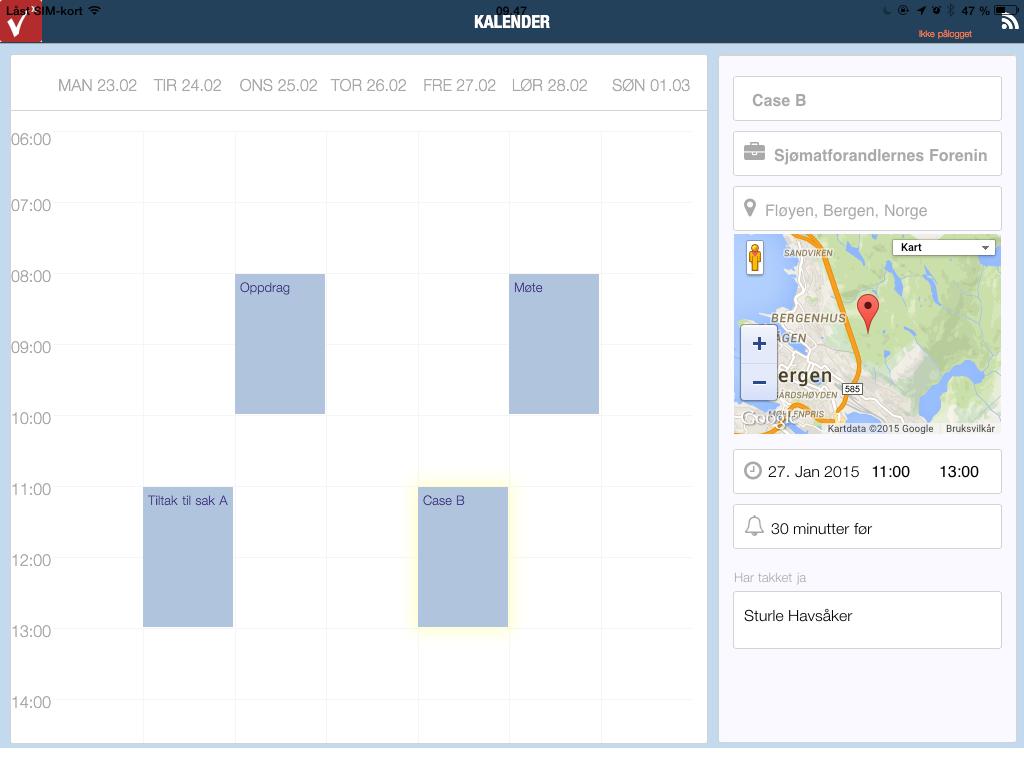 Vega NXT - CRM for iPad  proffverktøy for deg som skaffer inntektene